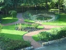 Unser barrierefreie, parkähnliche Garten