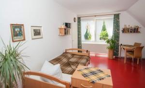 Beispiel für ein Einzelzimmer im Altenheim Landhaus Lohne