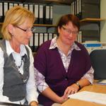 Mitarbeiter im Altenheim Landhaus Lohne