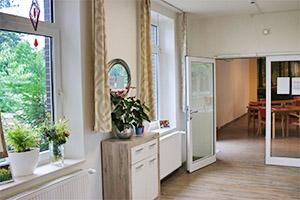 Großer Tagesraum im Pflegeheim Landhaus Lohne